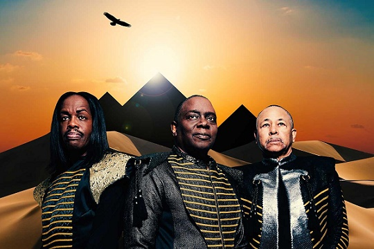 Earth, Wind and Fire tickets