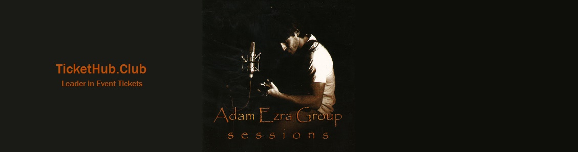 adam ezra group ticket image
