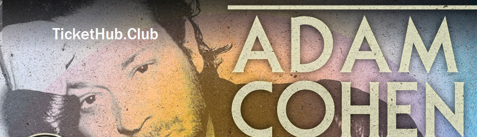 adam cohen ticket image