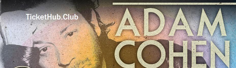 adam cohen ticket image