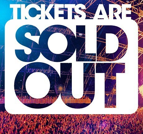 Sold Out Tickets For Sale