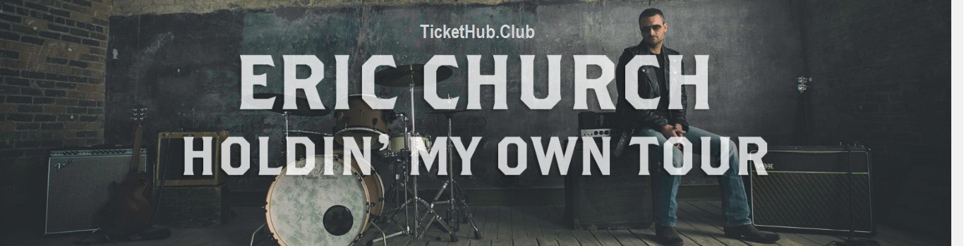 Eric Church Holdin My Own Tour Tickets